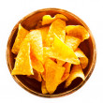 Corn nachos in a clay bowl — Stock Photo #64016497