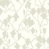 バラの花とのシームレスなパターン — ストックベクタ