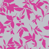 Seamless pattern with leaf ornament — ストックベクタ