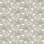 Seamless pattern with ornament — Stock Vector