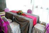 Wedding solemnization room — Stock Photo