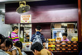 Local singaporean coffee shop — Stock Photo