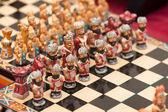 Miniature chess — Stock Photo