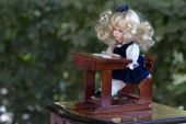 Vintage doll — Stock Photo