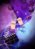 Cinema or movie background — Zdjęcie stockowe