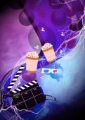 Cinema or movie background — ストック写真