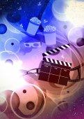 Cinema or movie background — Stock Photo