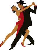 Tango — Stok Vektör