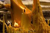 большая свеча — Стоковое фото