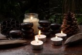 Aromatic candles — Stockfoto