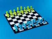 цветные шахматы кабана — Стоковое фото