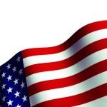 American Fla — Stock Photo #54586247