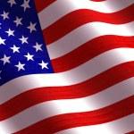 American Fla — Stock Photo #54586271