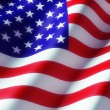 American Flag — Stock Photo #54586395