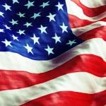 American Fla — Stock Photo #54586431
