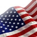 American Fla — Stock Photo #54586435