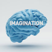 Imagination Brain — Stock Photo
