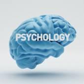 Psychology Brain — Stock Photo