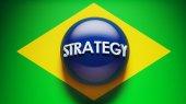 Brazil Strategy Concept — Stock Photo