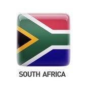 Icona bandiera sudafrica — Foto Stock