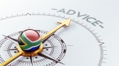 South Africa Advice Concept — Stock Photo