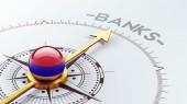Armenia Banks Concept — Stock Photo