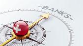Switzerland Banks Concept — Stock Photo
