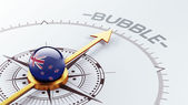New Zealand Bubble Concept — Stock Photo