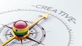 Ghana Creative Concept — Stock Photo