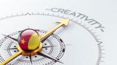 Cameroon Compass Concept — Stockfoto
