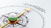 Bulgaria Danger Concept — Stockfoto