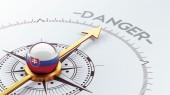 Slovakia Danger Concept — Stockfoto