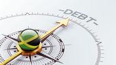 Jamaica Debt Concept — Stockfoto