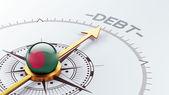 Bangladesh Debt Concept — Stockfoto