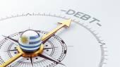 Uruguay Debt Concept — Stockfoto
