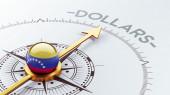 Venezuela Dollars Concept — Zdjęcie stockowe