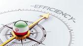 Iran Efficiency Concept — Stock Photo