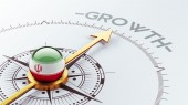 Iran Growth Concep — Stockfoto