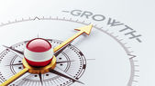 Austria Growth Concep — Foto Stock
