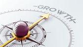 Qatar Growth Concep — Foto Stock
