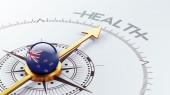 New Zealand Health Concept — Foto Stock