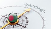 Bangladesh Income Concept — Stock Photo