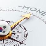 South Korea Compass Concept — Stock Photo #55074497