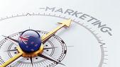 New Zealand Marketing Concept — Stock Photo