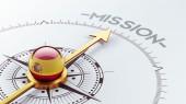 Spanje missie Concept — Stockfoto