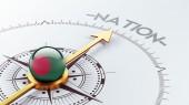 Pojęcie narodu Bangladeszu — Zdjęcie stockowe