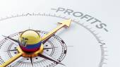 Ecuador Compass Concept — Stockfoto
