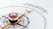 Syria Profit Concep — Stock Photo