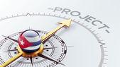 Cuba Project Concep — 图库照片