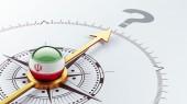 Iran Question Mark Concept — Stockfoto